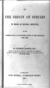 Darwin Book - Title Page