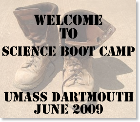 UMass Libraries Welcome Science Boot Camp Recruits