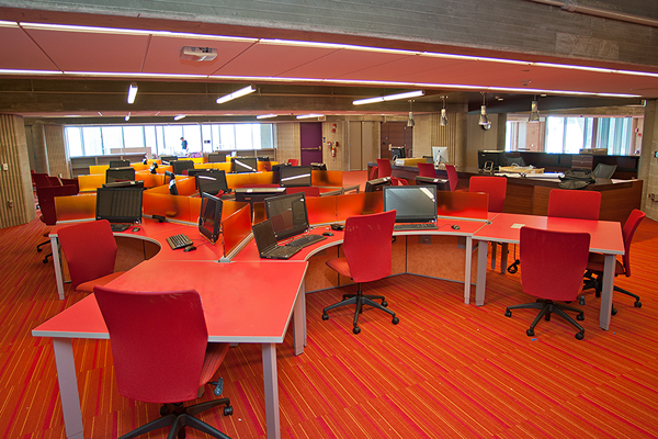 Learning Commons - Just Before the Opening - Sept 2012