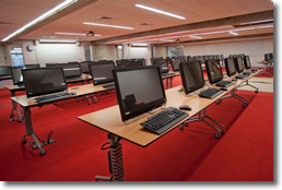 2nd Floor Computer Lab - Claire T. Carney Library