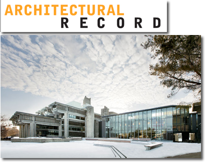 Architectural Record Article Image of Claire T Carney Library