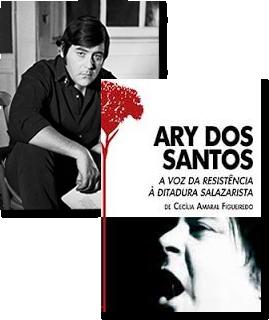 Image of Book Cover Ary dos Santos: A Voz da Resistência à Ditadura Salazarista & pic of  Ary dos Santos