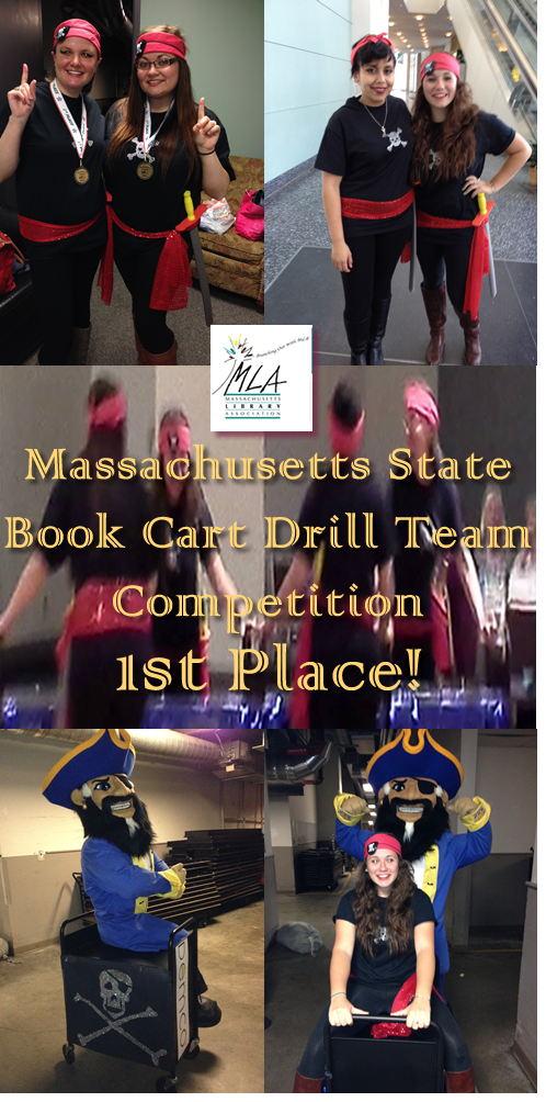 Images from UMass Dartmouth Carney Library Corsairs Book Cart DImages from UMass Dartmouth Carney Library Corsairs Book Cart Drill Team MLA Competionrill Team MLA Competion