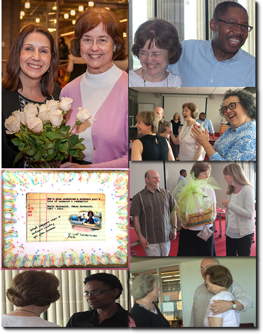 Pictures from Mary Adams' Retirement Celebrations