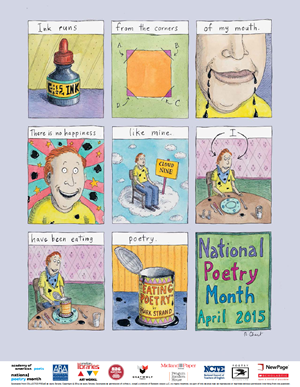 ALA Poster for National Poetry Month