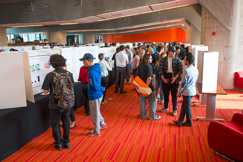Researchers and Attendees at The 21st Annual Sigma Xi UMass Dartmouth Research Expo