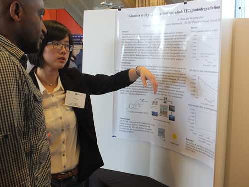 A Presenter at The 21st Annual Sigma Xi UMass Dartmouth Research Expo