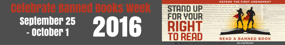 Banner Image - Celebrate Banned Books Week