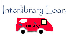 Image of an interlibrary loan van